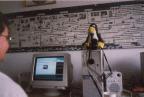 Die webcam im betrieb
