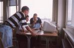Holger und zwei unbekannte